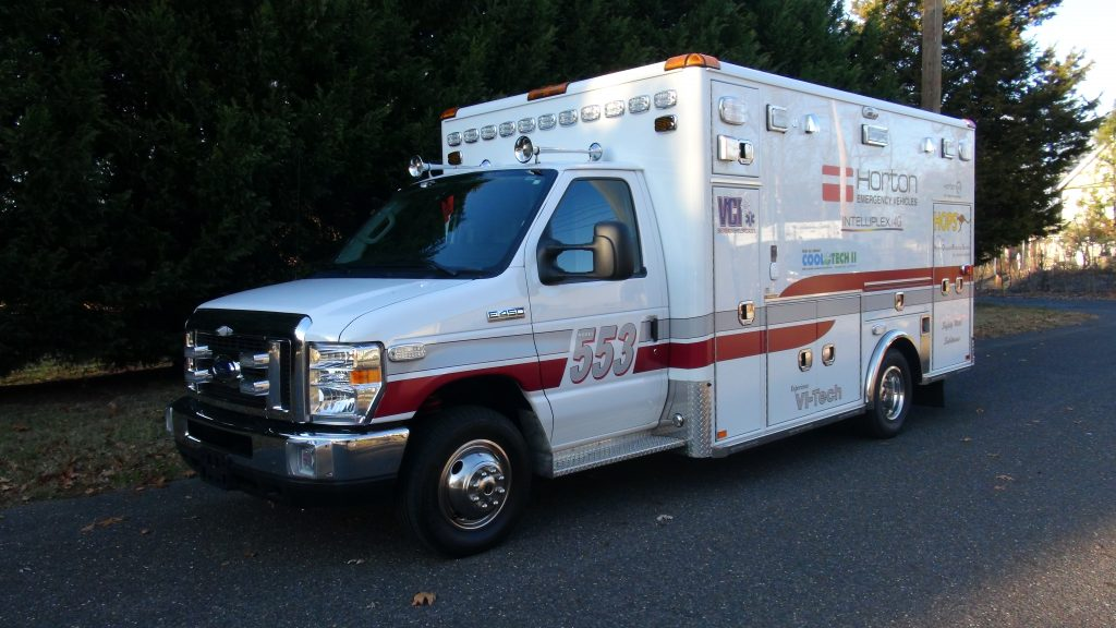 2016 Horton 553 – VCI Ambulances