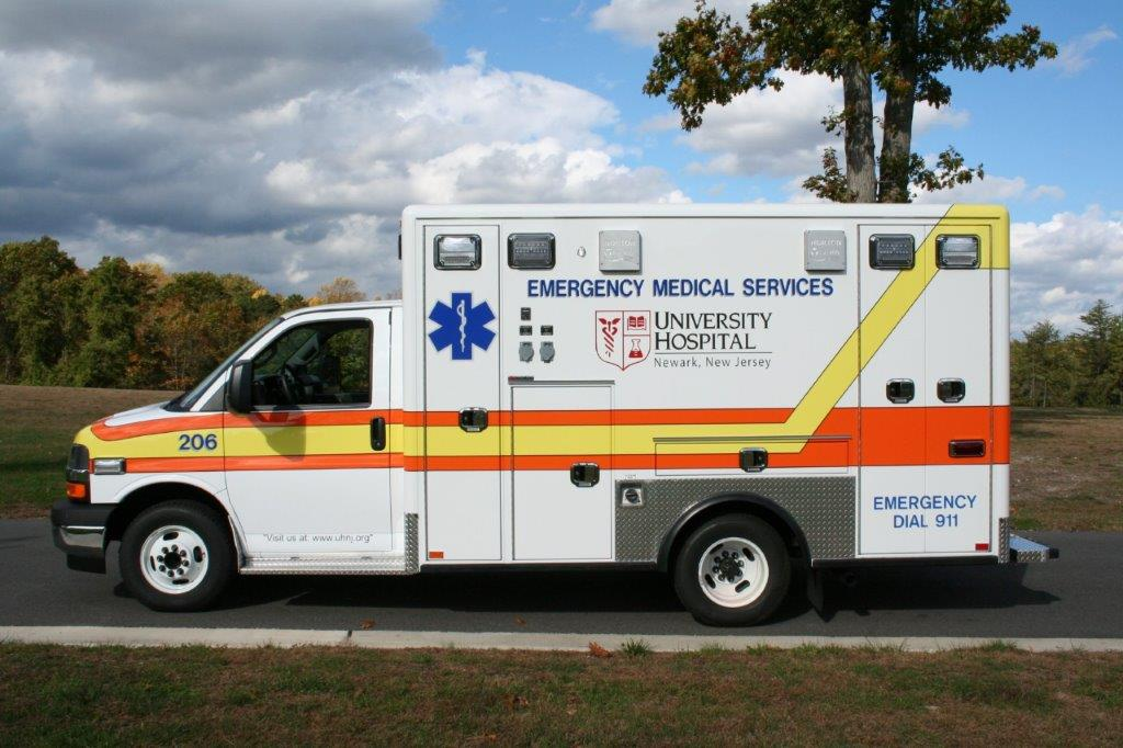 University Hospital – VCI Ambulances
