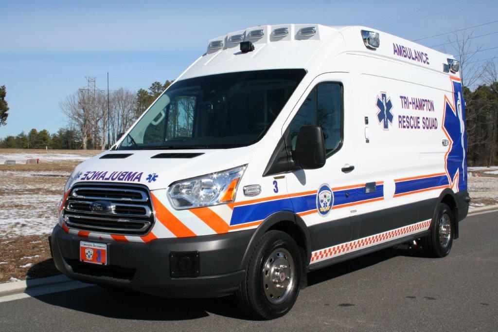 Tri Hampton Rescue Squad Vci Ambulances